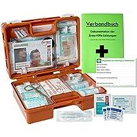Verbandskoffer/Verbandskasten (K) INKL. 90° ARRETIERUNG Erste Hilfe Din 13157 für Betriebe -DSGVO- preisvergleich bei billige-tabletten.eu