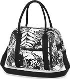 Dakine Damen Amber 20L Handtasche, Hibiscus Palm Canvas, 41 x 30 x 15 cm