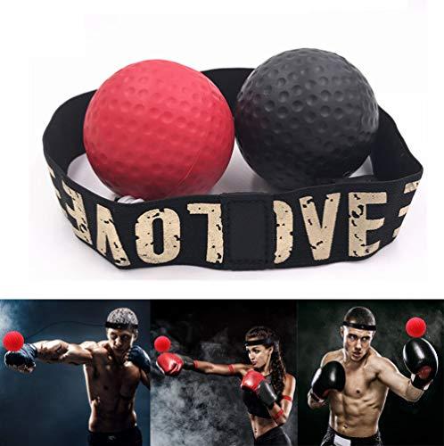 DIVAND Reflex Boxing Ball, Boxtraining Equipment Boxen Speedball Reflex Ball Boxing Ball Ball Ball Ball Ball, Verbesserung der Reaktionszeit Geschwindigkeit, Fitness, Vertrauen Cardio