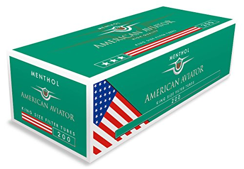American Aviator Menthol Filterhülsen Regular 10 Boxen (2000 Hülsen)