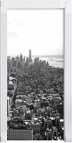 new york city panorama kunst b w als preisvergleich. Black Bedroom Furniture Sets. Home Design Ideas