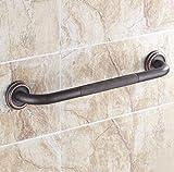 QPSSP Schwarze Europäischen Stil Antiker Bad Armlehne, Badewanne, Armlehne, Kupfer - Bad - Anhänger Anti-Skid Bad Armlehne