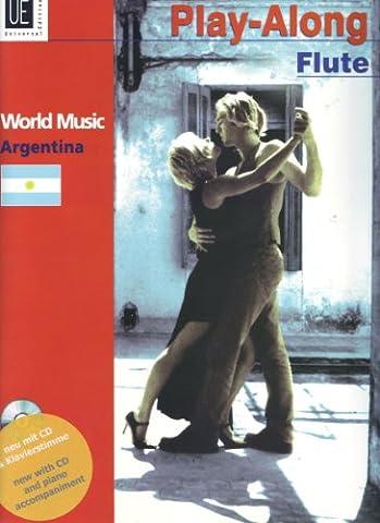 Argentina - Play-Along Flute, m. Audio-CD oder Klavierbegleitung