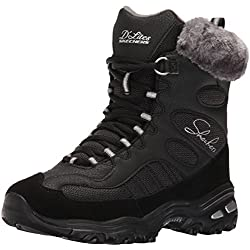 Scarpe Skechers D'Lites Chalet Women 48816 BLK - 36 EU