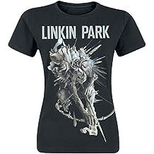 Linkin Park Lip Archer Tour Dated T-Shirt Femme Noir