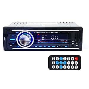 Vktech® Lecteur MP3 de Voiture Stéréo Bluetooth Multifonction