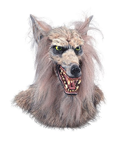 Werwolf Kino Film Maske und Deko Schocker Halloween Party Tierhorror Puppe Monster Kopf