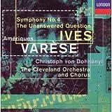 Varèse-Ameriques-Ives-Symphony N 4-Dohnanyi-Cleveland Orch-