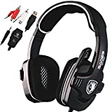 SADES SA922 Professionelle Surround Sound Stereo PC Gaming Headset Kopfhörer