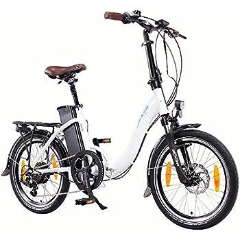 NCM Paris 20 Zoll E-Faltrad E-Bike, 36V 250W Motor, 15Ah 540Wh Li-Ion Akku