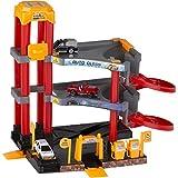 Warenhandel König Spielzeug Parkhaus Autogarage Werkstatt Spielzeugauto Aufzug Hebebühne 3 Etagen