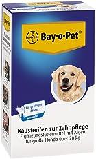 Bayer Mouth Guard 33267 Bay-o-Pet Zahnpflege Kaustreifen großer Hund 140 g