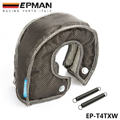 valoxin (TM) autofab-epman fibra di carbonio Turbo coperta calore Shield Cover per T4Vivamente EP-T4TXW
