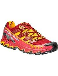 La Sportiva Ultra Raptor Berry - Zapatillas de running, color rojo / amarillo, talla 39.5