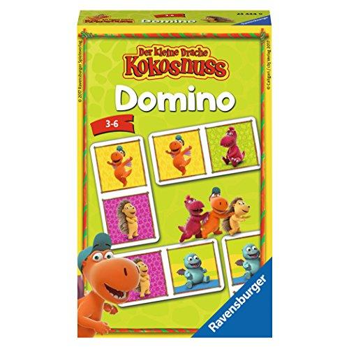 Ravensburger 23434 - der Kleine Drache Kokosnuss Domino Kinderspiel