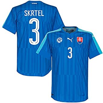 Slowakei Away Trikot 2016 2017 + Skrtel 3 (Fan Style)