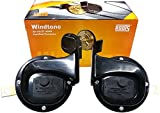 #10: Roots Windtone Trumpet Classic Horn Pair (12V) 2pcs for Hyundai Verna Fluidic