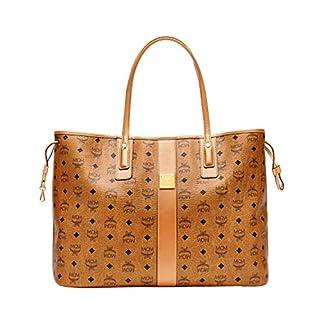 21323e792ee88 MCM Damen Reversible Shopper Project Large Cognac