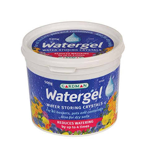 Gardman 02320 Watergel Tub, Clear, 500 g