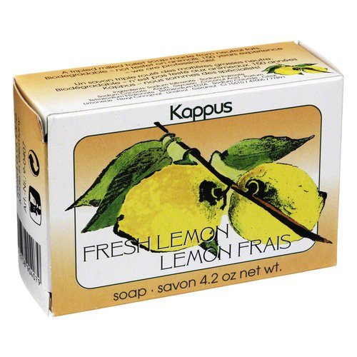 Kappus frische Zitrone Seife, 125 g (Zitronen-seife)