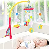 Musical Cot Mobile Toy With Remote control and Night Projection