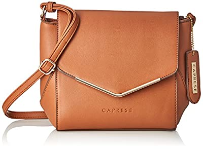 Caprese Yondella Women's Sling Bag (Saddle)