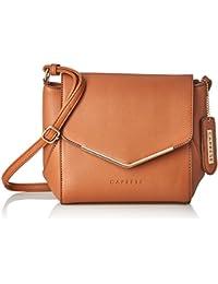 Caprese Yondella Women's Sling Bag (Saddle)