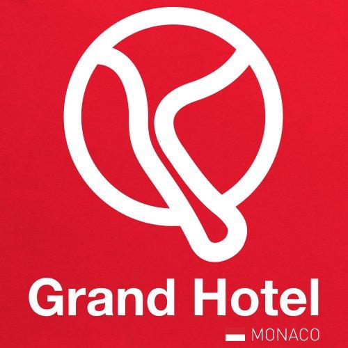 General Tee Classic Curves - Grand Hotel T-Shirt, Herren Rot