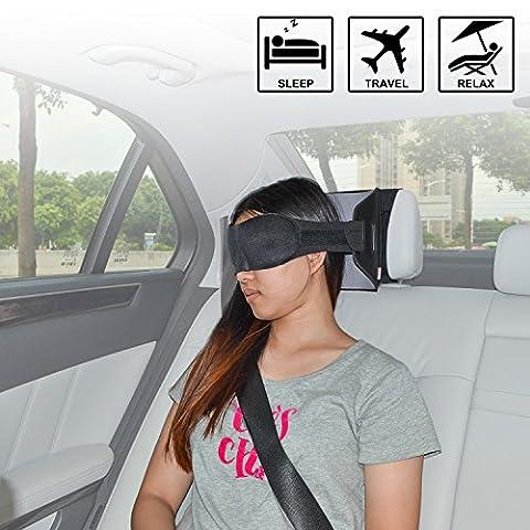TFY masque de sommeil à installer sur appui-tête