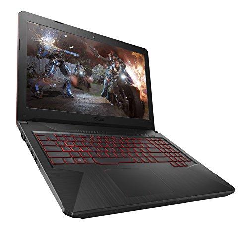 ASUS FX504GE-DM198T - Ordenador Portátil Gaming 15.6' FullHD (Coffeelake i7-8750HQ, 16GB RAM, 1 TB HDD+128GB SSD, Nvidia GTX 1050Ti de 4 GB, Windows 10 Home) Metal Negro - Teclado QWERTY Español