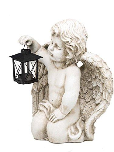 Deco Angelo Candela lanterna per la figura tealight scultura Angelo - Angelo Scultura