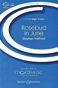 Rosebud in June - SSAA - CHORAL SCORE