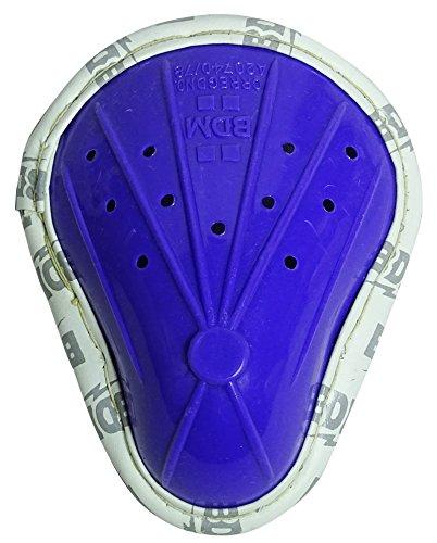 BDM Mansfield Super Max Blue Kricket Abdominal Guard Schutz vor Grobschutz