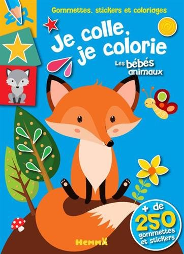 Je colle, je colorie les bébés animaux par From Hemma