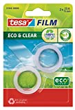 Tesa film Eco & Clear transparent, 10m:15mm, 2 Rollen im Blister