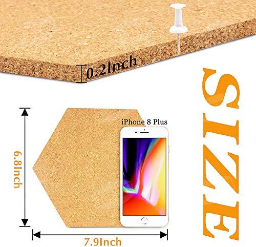 4/mm di spessore Sughero naturale 300/x 300/mm autoadesivo confezione da 75 piastrelle per pavimento//parete//DIY