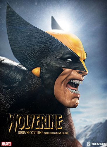 116–Wolverine brown Kostüm Premium Format Statue (Sideshow Kostüme)