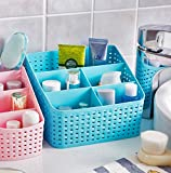 #3: TIED RIBBONS Makeup Costmatic Organizer Basket/Storage Box For Bedroom,Bathroom,Office Table, Storage Organizer(1 Piece)