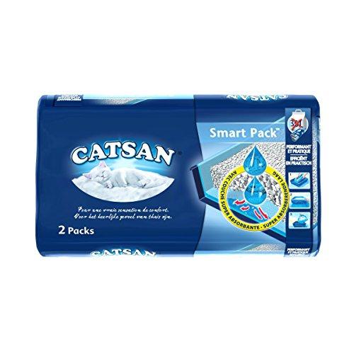 Catsan Hygiène Plus - SmartPack - Litière pour chat - 2x4L