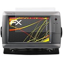 atFoliX Garmin GPSMap 720s Lámina Protectora de Pantalla - 3 x FX-Antireflex-HD antirreflectante de alta resolución Protector Película