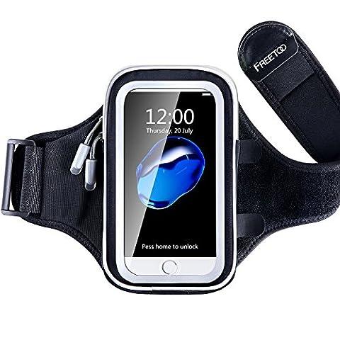 Brassard Etanche Iphone 5s - FREETOO Brassard Sport Anti-Sueur Pour Mp3 Smartphone
