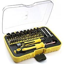 Set di punte per cacciavite magnetico Voxon, da 71pezzi, con cacciavite professionale XR, cacciavite di precisione, kit di riparazione per elettronica