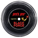 Tennissaite Pro Black Force 1.24 200m