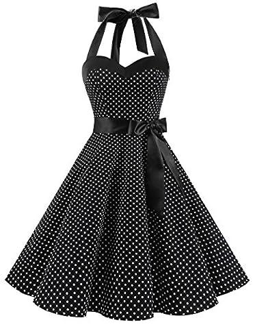 Robe Noir Vintage - Dresstells, Version3.0 Vintage 1950's Audrey Hepburn pin-up
