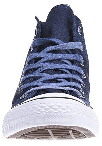 Converse Womens Chuck Taylor All Star Hi Top Textile Trainers Bleu