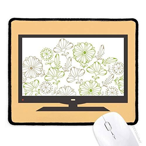 beatChong Frische Blumen Gras Zeichnung dekorative Muster-Computer Mouse Pad Anti-Rutsch-Gummi Mousepad Spiel Büro - Pad Zeichnung Dekorative