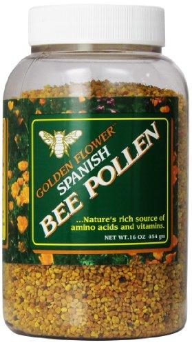 Golden Flower Spanish Bee Pollen, 16-Ounce -