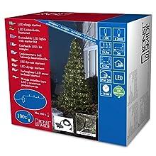 Konstsmide 3656-100 Kit de Système de Base Système Extérieur 100 Micro LEDs 24 V Blanc Chaud Câble Noir