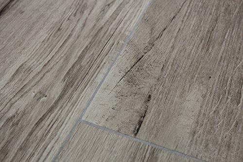 """Bodenfliese\""""Kopenhagen\"""" / Keramikfliese (Feinsteinzeug) für Boden in natürlicher Holzoptik / 25 cm x 90 cm/Nussfarbe, braun/Oberfläche: Naturholz/Für ein warmes skandinavisches Wohngefühl"""