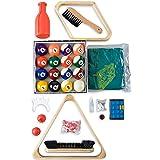 Billard - Zubehörset ALL IN ONE - Komplettset inkl. 5 Queues, Billardkugeln, Dreieck und diversen Extras, Zubehör Set, Pool, Snooker - 4